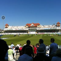 Photo taken at Trent Bridge Cricket Ground by Gareth H. on 5/25/2012