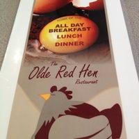 Photo taken at Olde Red Hen Restaurant by Steve F. on 5/2/2012