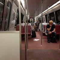 Photo taken at WMATA Yellow Line Metro by Kevin K. on 5/2/2012