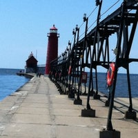 Photo taken at Grand Haven State Park by Dennis T. on 5/22/2012