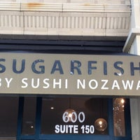 Photo taken at SUGARFISH | Downtown LA by Sean K. on 4/22/2012