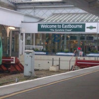 Photo taken at Eastbourne Railway Station (EBN) by Graeme E. on 1/17/2012