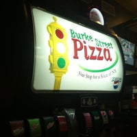 Photo taken at Burke Street Pizza by Amanda W. on 11/13/2011