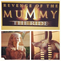 Photo taken at Revenge of the Mummy - The Ride by Albert E. on 11/3/2011