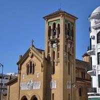 Photo taken at Eglise Ntra Sra de las Victorias by Saad B. on 3/23/2012