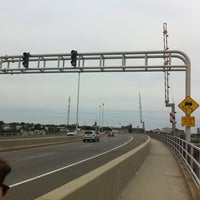 Photo taken at Casco Bay Bridge by Cooper M. on 7/8/2011