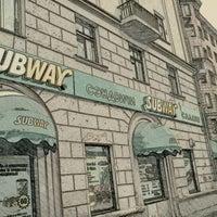 Photo taken at SUBWAY by Vitaliy K. on 1/7/2012