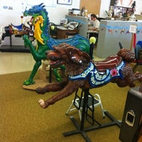 Photo taken at Albany Carousel & Museum by MacBeth P. on 8/9/2012