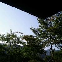 Photo taken at 청평휴양림 by Jun Ho L. on 10/1/2011