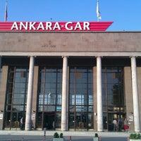 Photo taken at Ankara Garı by Fatih Ç. on 8/22/2012