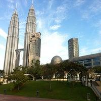 Photo taken at Masjid Asy-Syakirin by Azza M. on 3/13/2012
