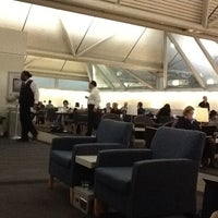 Photo taken at United Club by Sascha S. on 1/27/2012