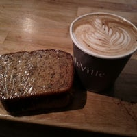 Photo taken at deVille Luxury Coffee & Pastries by Gracelyn M. on 3/17/2012