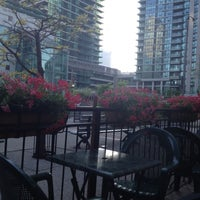 Photo taken at Harbour Sports Grille by Danielle on 5/19/2012