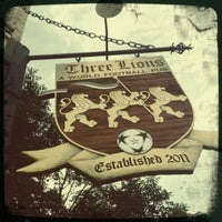 Photo taken at The Three Lions: A World Football Pub by Joseph W. on 7/14/2012