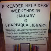 Photo taken at Chappaqua Public Library by ChapKiscoPatch on 1/13/2012