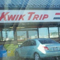 Photo taken at Kwik Trip by Jaci L. on 12/27/2011