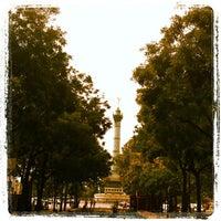 Photo taken at Place de la Bastille by Marcus F. on 7/28/2012