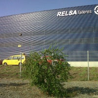 Photo taken at Relsa Talleres by CRISTIAN S. on 12/14/2011