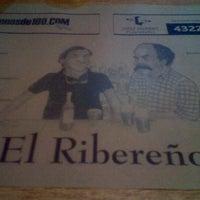 Photo taken at El Ribereño by Gonzo S. on 10/28/2011