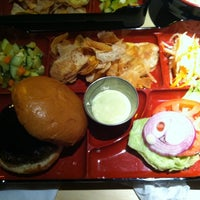 Photo taken at Bento Burger by Sally C. on 5/15/2011