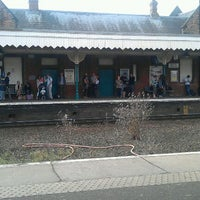 Photo taken at Bury St Edmunds Railway Station (BSE) by Martin R. on 8/28/2011