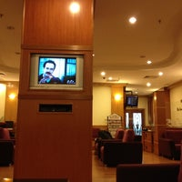 Photo taken at Malaysia Airlines Golden Lounge by Ismail S. on 8/28/2012