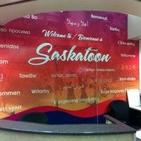 Photo taken at Saskatoon John G. Diefenbaker International Airport (YXE) by Doug R. on 10/26/2011