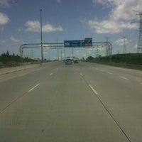 Photo taken at Hwy 407 at Bathurst by Michael A. on 6/14/2011