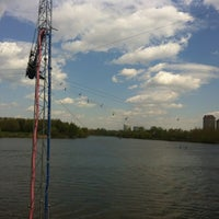 Photo taken at Траектория Wake Park by Any S. on 5/1/2012