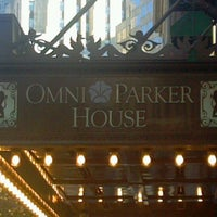 Photo taken at Omni Parker House by Allan K. on 11/9/2011