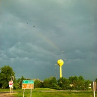Photo taken at Smiley Face Water Tower by Brooke N. on 5/5/2012