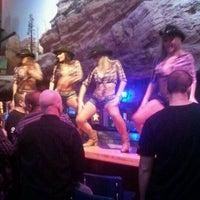 Photo taken at Jim Beam's Wild West Bar by Matthew F. on 2/18/2012