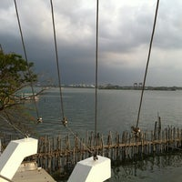 Photo taken at Marine Drive by Vineeth J. on 4/12/2012