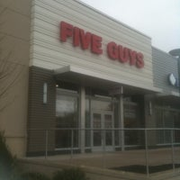 Photo taken at Five Guys by Mrs. P. on 3/15/2012