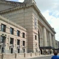 Photo taken at Union Station Kansas City, Inc. by Katie L. on 6/17/2012