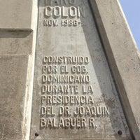 Photo taken at Faro a Colón by Jose C. on 6/14/2012