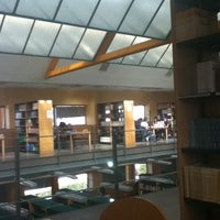 Photo taken at Biblioteca Francisco De Vitoria by Sara d. on 3/13/2012