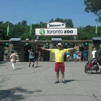 Photo taken at Toronto Zoo by DomTiburcio S. on 7/17/2012