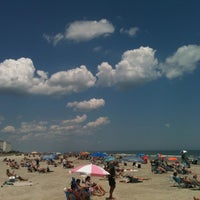 Photo taken at 44th street beach by Michael Z. on 6/23/2012