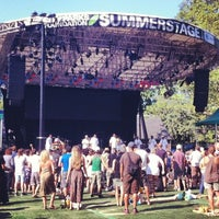 Photo taken at Central Park SummerStage by Julianne C. on 7/22/2012