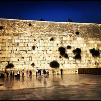 Photo taken at The Western Wall (Kotel) by Rami F. on 6/28/2012