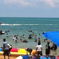 Photo taken at Pantai Teluk Kemang by Mohd Isa R. on 4/15/2012