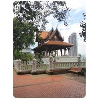 Photo taken at Santichai Prakan Park by Mona 💋 m. on 7/13/2012