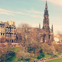 Photo taken at West Princes Street Gardens by Kayley H. on 3/31/2012