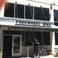 Photo taken at Freewheel Bike Shop - Midtown Bike Center by Jaim Z. on 6/4/2011