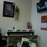 Photo taken at L' Amour Nails by Babie 2. on 10/9/2011