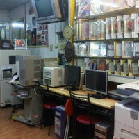 Photo taken at KING PHOTO EXPRESS by Ae G. on 4/17/2012