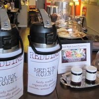 Photo taken at Redline Coffee and Espresso by National Post on 10/12/2011