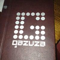 Photo taken at Gazuza Lounge by Inemesit E. on 6/24/2012